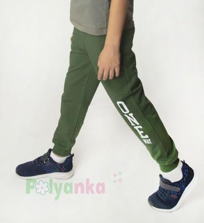 """Wanex Спортивные штаны для мальчика зелёные """"One Wax"""" - Картинка 2"""