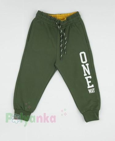"""Wanex Спортивные штаны для мальчика зелёные """"One Wax"""" - Картинка 4"""
