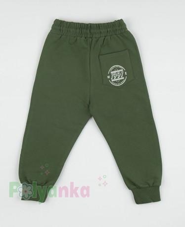 """Wanex Спортивные штаны для мальчика зелёные """"One Wax"""" - Картинка 5"""