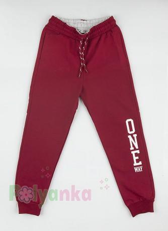 Wanex Спортивные штаны детские бордовые - Картинка 4