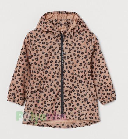H&M Ветровка для девочки леопардовая - Картинка 1