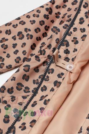 H&M Ветровка для девочки леопардовая - Картинка 4