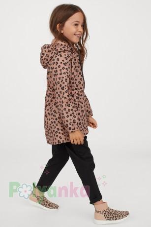 H&M Ветровка для девочки леопардовая - Картинка 5