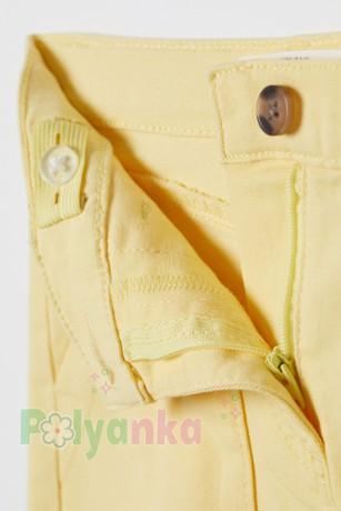 H&M Юбка для девочки жёлтая - Картинка 2