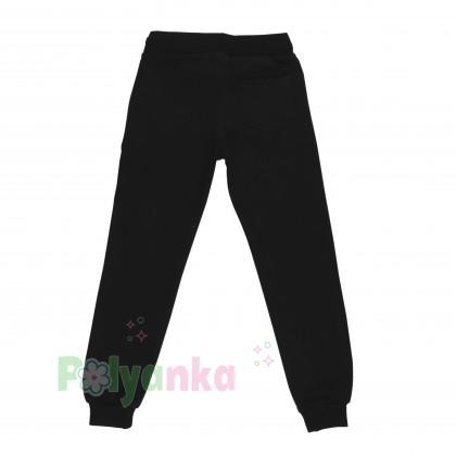 Wanex Спортивный костюм для девочки малиновое худи и чёрные спортивные штаны  - Картинка 5