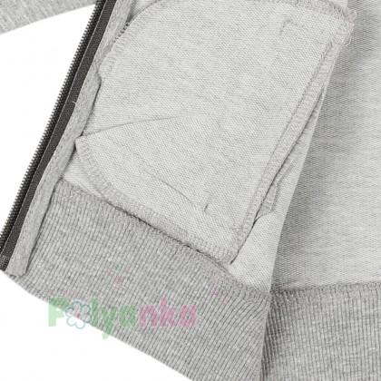 Wanex Спортивный костюм для мальчика олимпийка светло-серая и темно-серые спортивные штаны - Картинка 5
