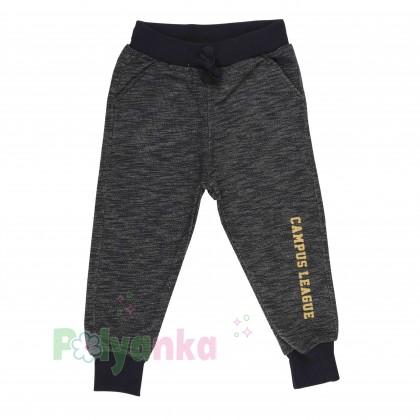 Wanex Спортивный костюм для мальчика серо-черный свитшот и штаны - Картинка 5