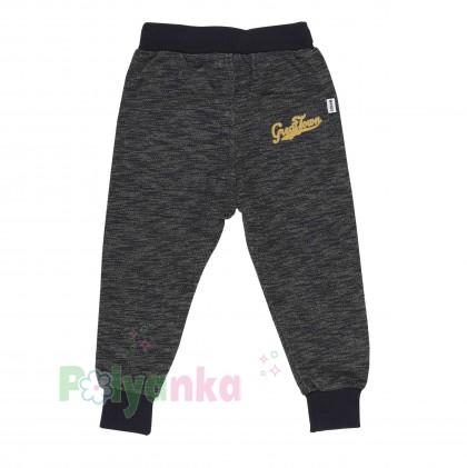 Wanex Спортивный костюм для мальчика серо-черный свитшот и штаны - Картинка 6