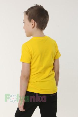 Wanex Футболка детская жёлтая с динозаврами - Картинка 2
