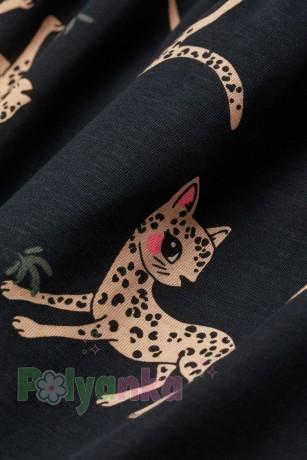 H&M Сарафан детский черный с леопардами - Картинка 2