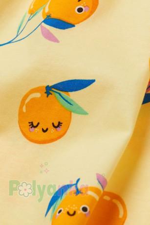 H&M Сарафан детский жёлтый с апельсинами - Картинка 2