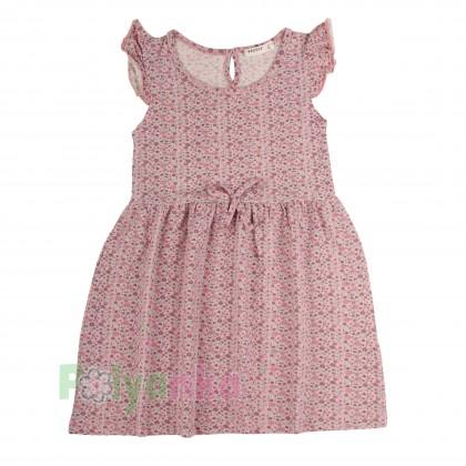 Breeze girls & boys Сарафан для девочки розовый в мелкие цветочки - Картинка 1