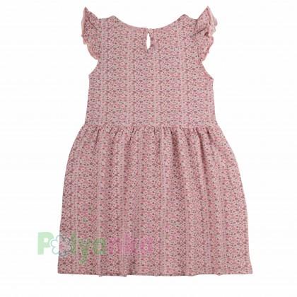 Breeze girls & boys Сарафан для девочки розовый в мелкие цветочки - Картинка 3