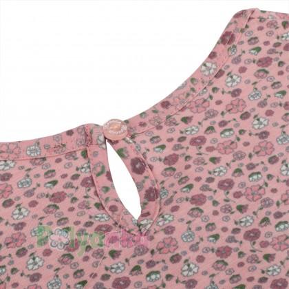 Breeze girls & boys Сарафан для девочки розовый в мелкие цветочки - Картинка 4