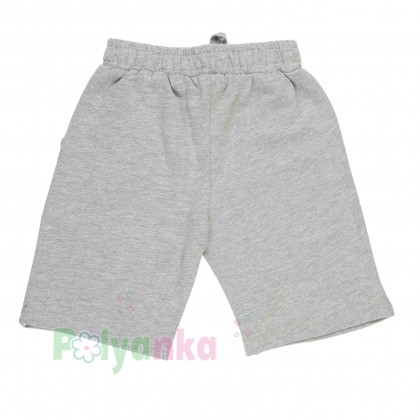 Breeze girls & boys Комплект для мальчика серый шорты с карманами и футболка - Картинка 7
