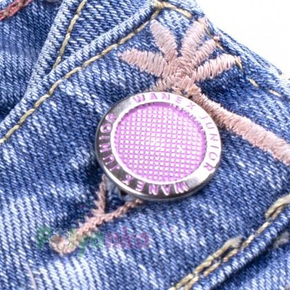 Wanex Комбинезон для девочки синий джинсовый  - Картинка 2