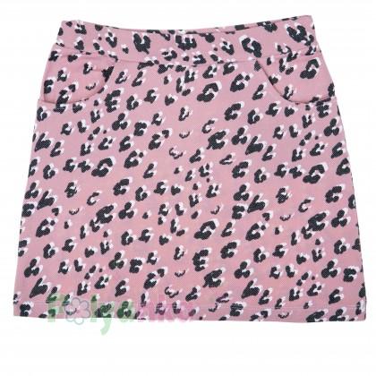 """Wanex Комплект для девочки """"Reep your elegance"""" розовая юбка и белая футболка - Картинка 4"""