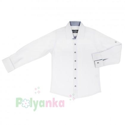 Wanex Рубашка для мальчика белая - Картинка 2