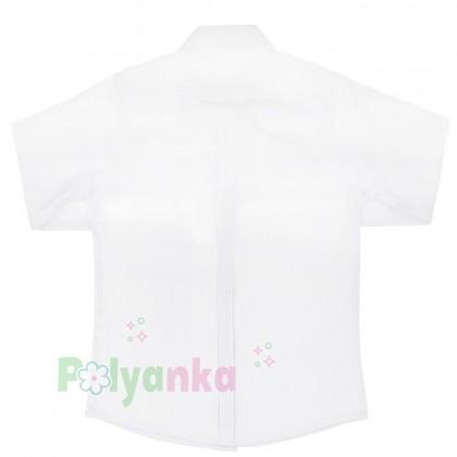 Wanex Рубашка для мальчика белая - Картинка 3