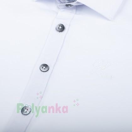 Wanex Рубашка для мальчика белая - Картинка 4