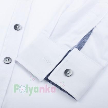 Wanex Рубашка для мальчика белая - Картинка 5
