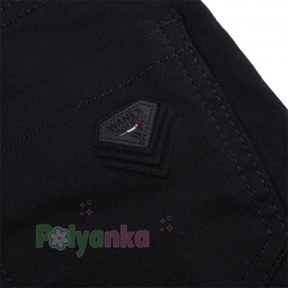 Wanex Брюки для мальчика чёрные классика с карманами - Картинка 4