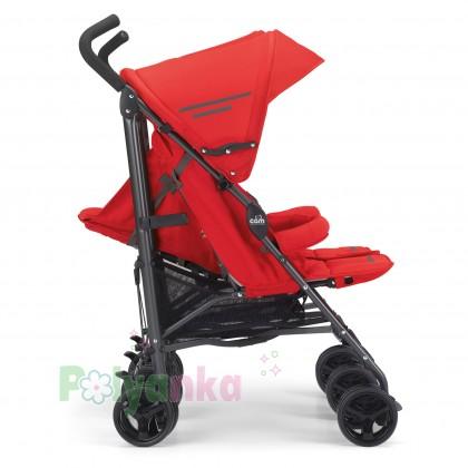 Cam Прогулочная коляска для двойни TWIN FLIP, красная (850/24) - Картинка 3