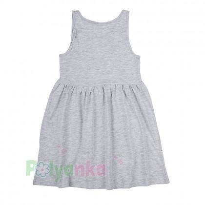 H&M Сарафан для девочки серый с единорогами - Картинка 3