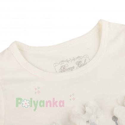 Breeze girls & boys Платье детское с короной и розовой фатиновой юбкой - Картинка 3