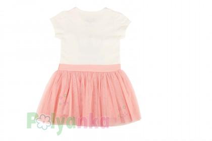Breeze girls & boys Платье детское с короной и розовой фатиновой юбкой - Картинка 4