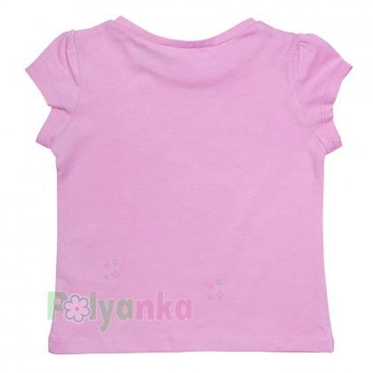 H&M Комплект детский розовая футболка с единорогом и разноцветная юбка - Картинка 3