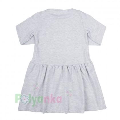 H&M Платье детское серое с единорогом в пайетках - Картинка 3
