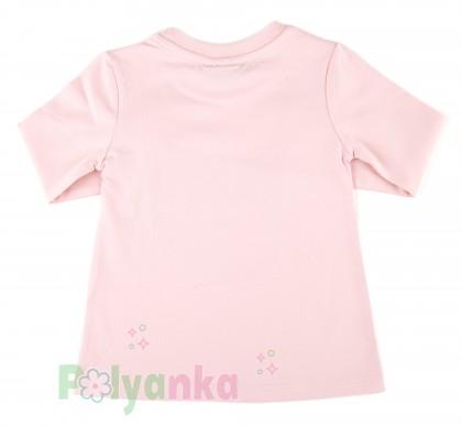 "Wanex Комплект детский ""Sun rise"" темно-синяя юбка и розовый лонгслив с розочками - Картинка 6"