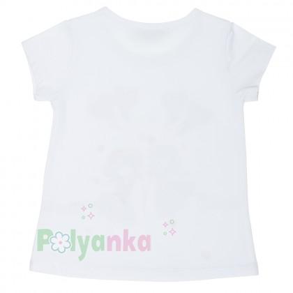 Wanex Комплект футболка с девочкой  с шариками и капри - Картинка 4