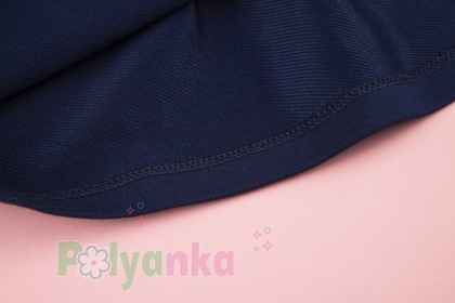 Wanex Платья детское с длинным рукавом бело-синее в полоску - Картинка 5