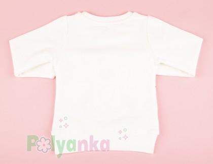 Wanex Свитшот детский белый с мишкой  - Картинка 6