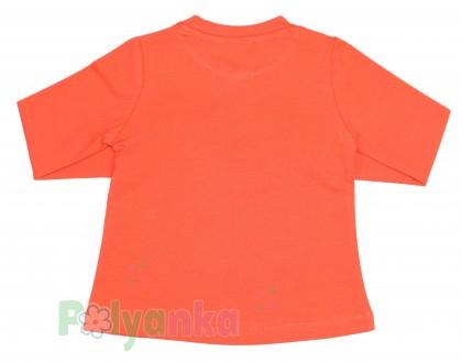Wanex Футболка детская с длинный рукавом оранжевый с пингвинами - Картинка 4