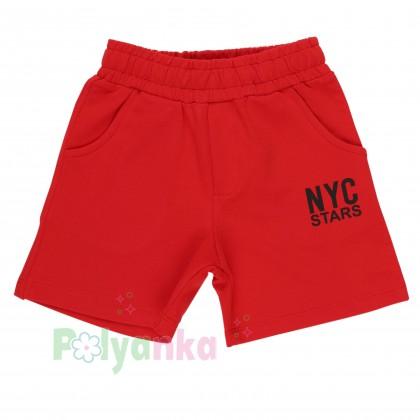 Wanex Комплект детский желтая футболка и красные шорты с карманами - Картинка 4