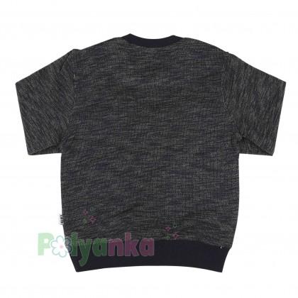 Wanex Спортивный костюм детский черный свитшот и спортивные штаны - Картинка 4