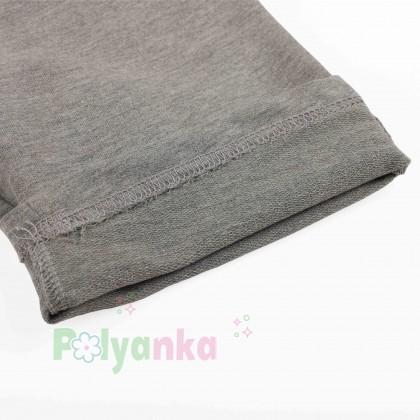 Breeze girls & boys Детские шорты для мальчиков серые с карманами - Картинка 2
