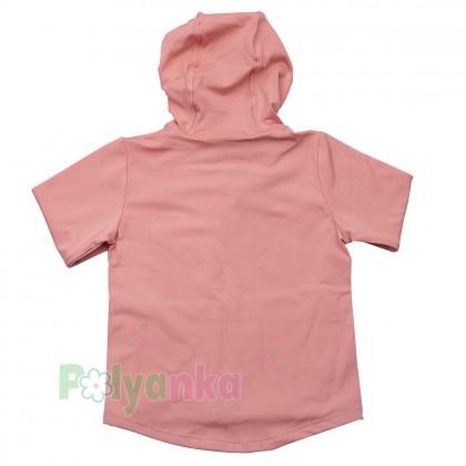Wanex Спортивный костюм для девочки розово-чёрный - Картинка 3