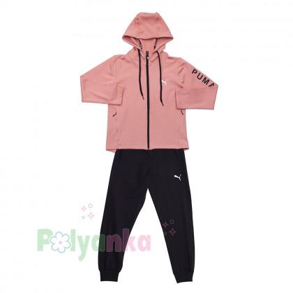 Wanex Спортивный костюм для девочки розово-чёрный - Картинка 6