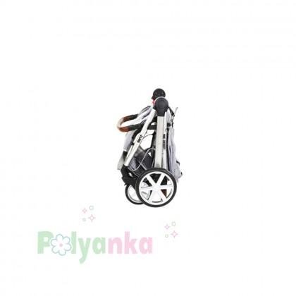 ABC design Прогулочная коляска MINT NEW, серая (51409/701) - Картинка 3