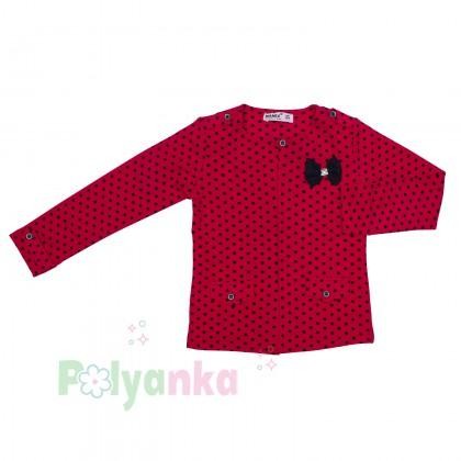 Wanex Комплект детский красный в чёрный горох - Картинка 3
