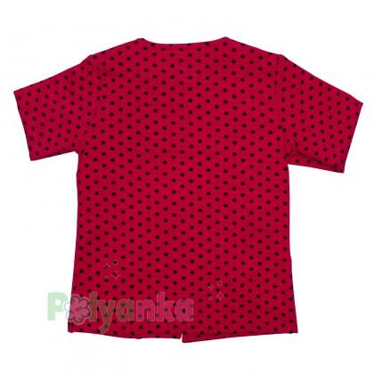 Wanex Комплект детский красный в чёрный горох - Картинка 6