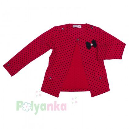 Wanex Комплект детский красный в чёрный горох - Картинка 7