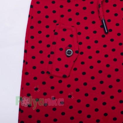 Wanex Комплект детский красный в чёрный горох - Картинка 10
